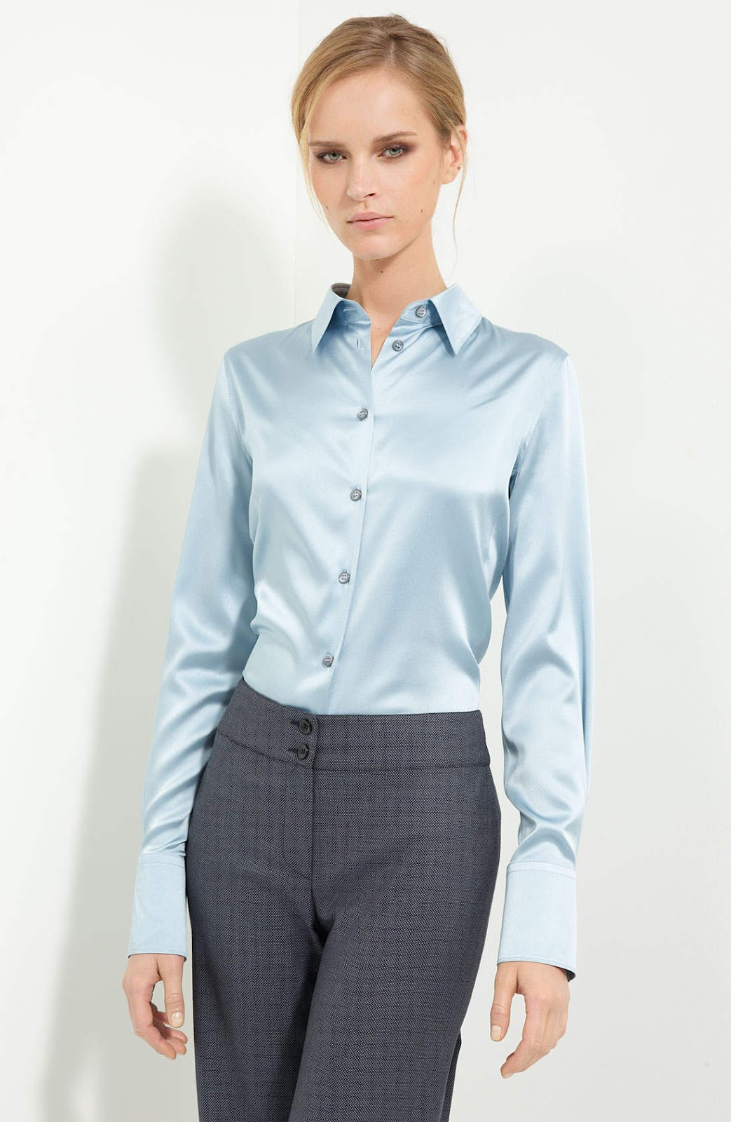 Satijn Blouse 86