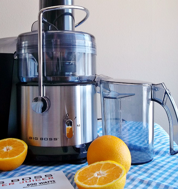 #BigBossKitchen 700 Watt Stainless Steel Power Juicer
