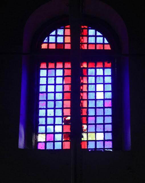 window, church, india, kerala, kochi, cochin, stained glass