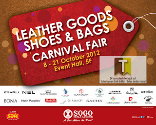 KL Sogo Leather Goods, Shoes & Bags Carnival Fair 2012