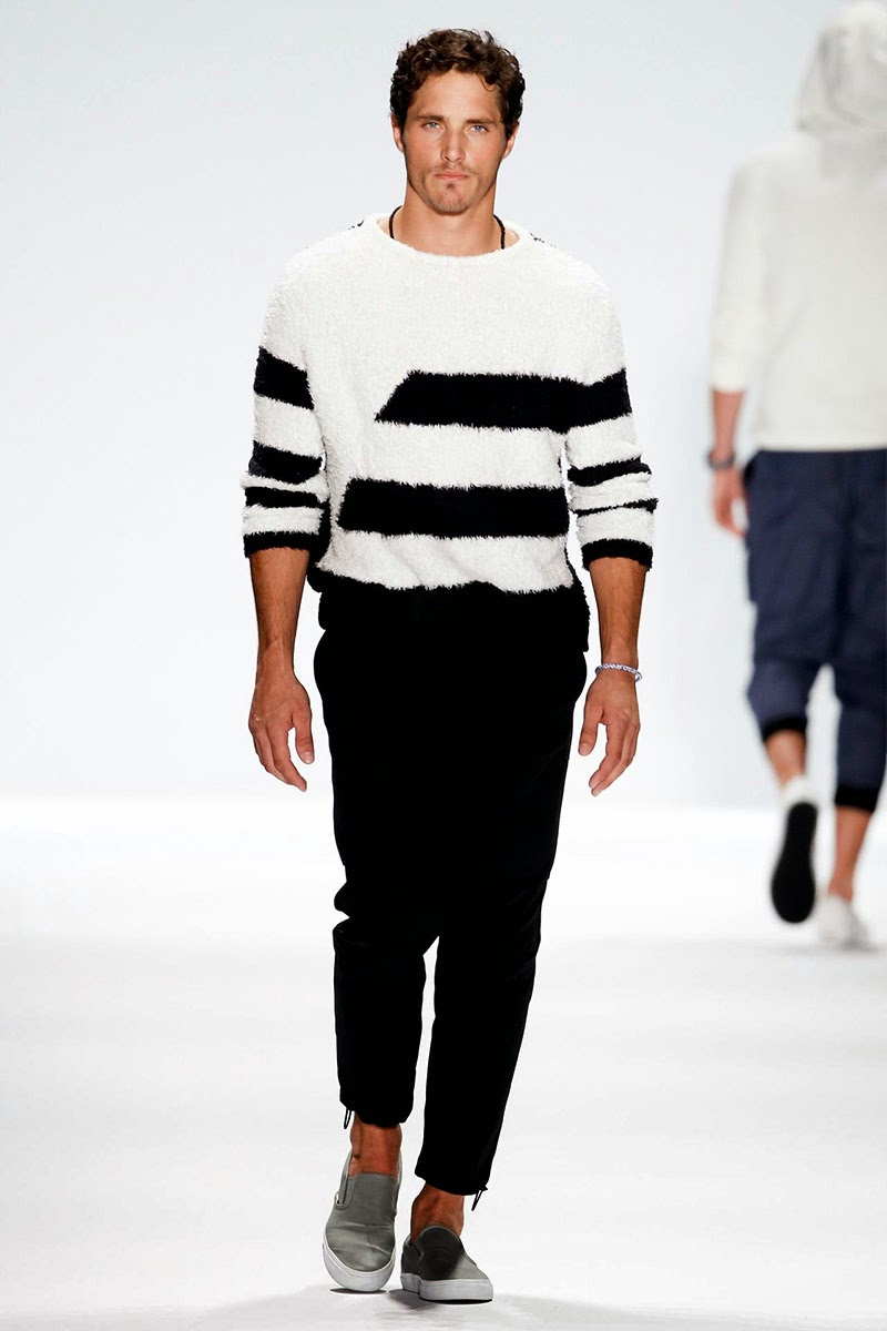 Nautica Men's Spring 2014 Black Sail Fashion Show The reason we re going on the