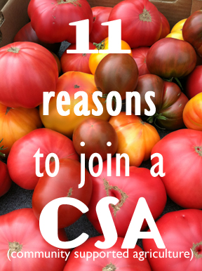 11 Reasons to Join a CSA