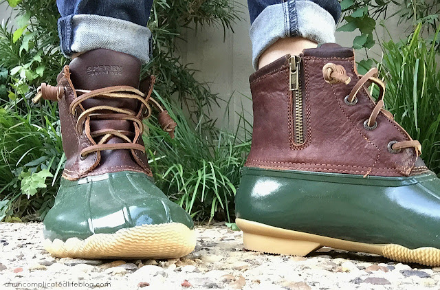 Sperry duck boots are perfect for Southern winters - keep your feet dry and warm!