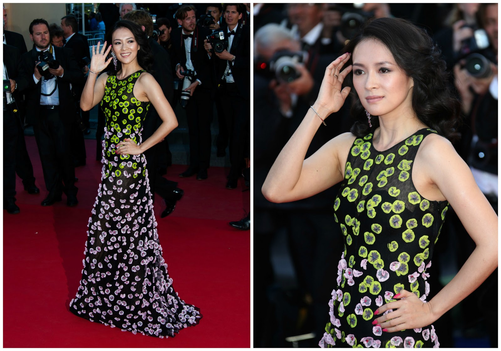 zhang ziyi red carpet 2017 - photo #39
