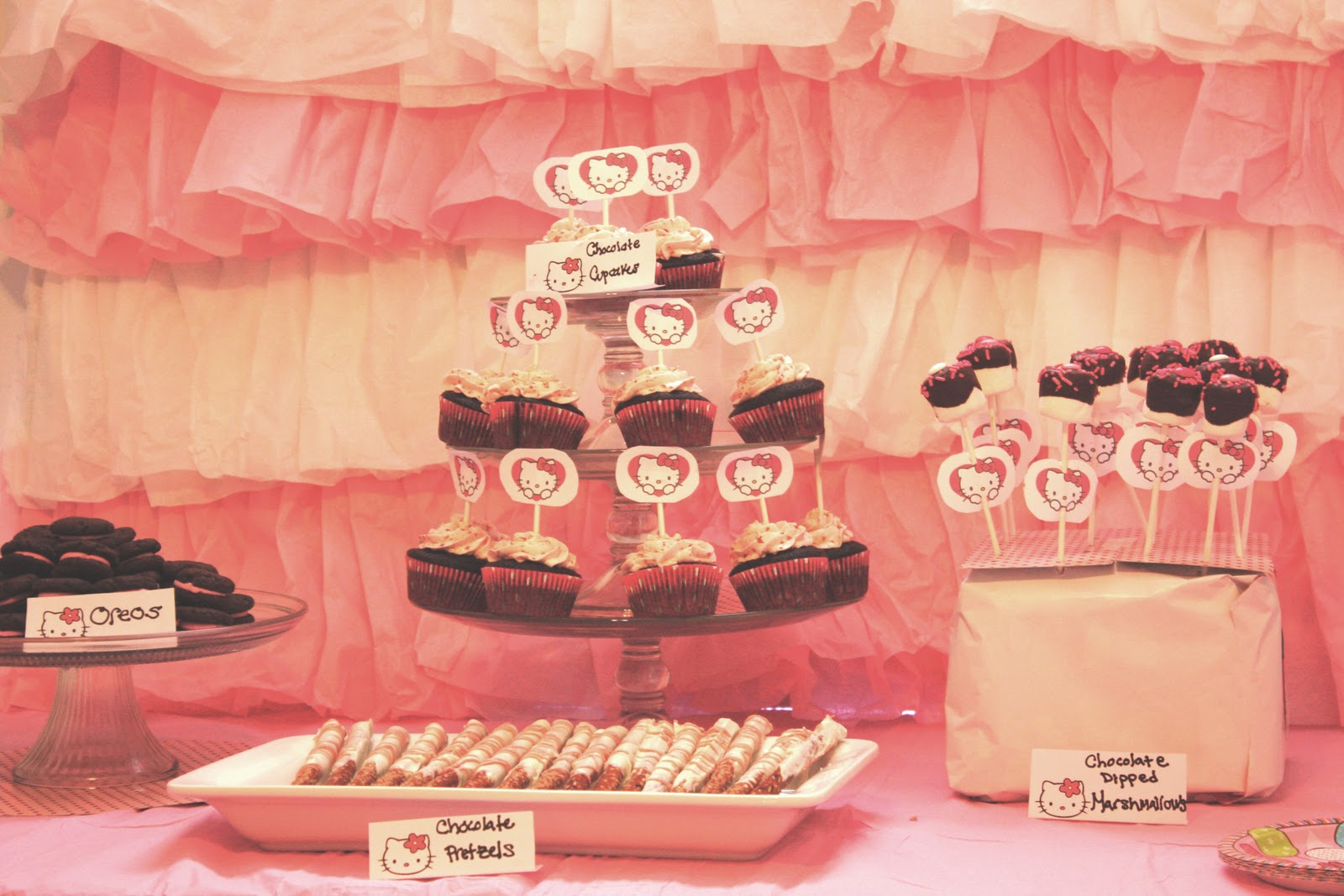 A Hello Kitty Bridal Shower Baking Therapy