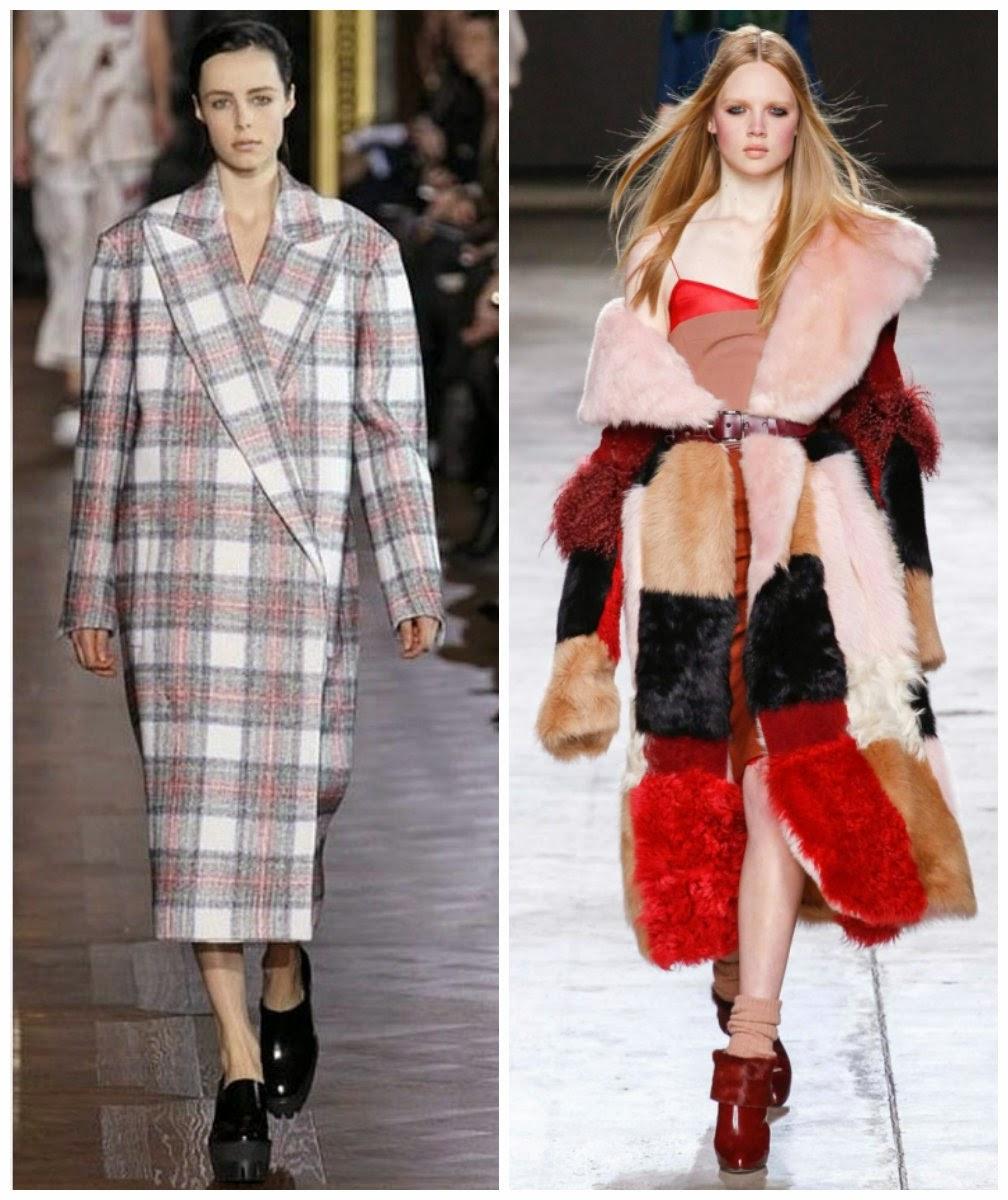 Подборка стильных пальто осень-зима 2014-2015 года. Пальто