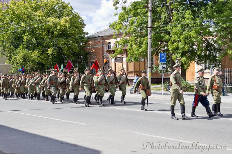 Российская армия на марше