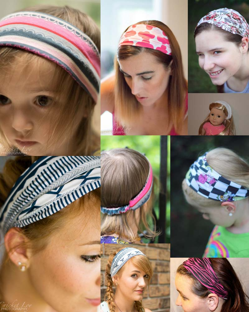 Reversible Headband Knitting Pattern : Create Kids Couture: Reversible Woven Headband and Wide ...