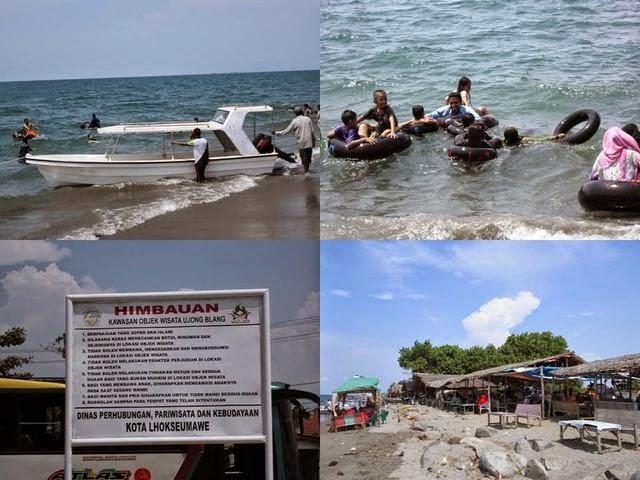 Wisata Pantai Ujong Blang, syurganya Kota Lhokseumawe