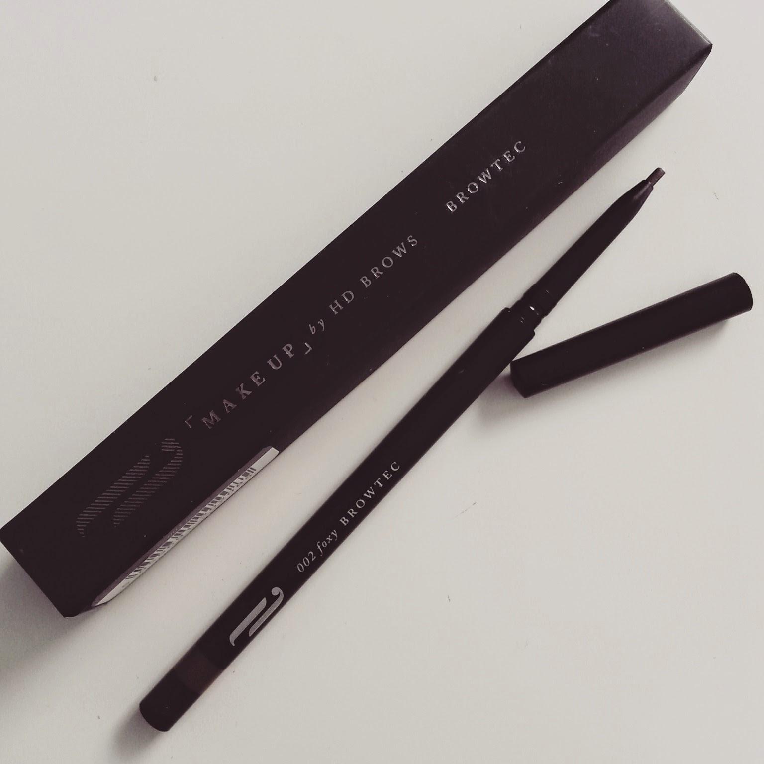 beauty make regrets 2015 - HD Brows Browtec eyebrow pencil