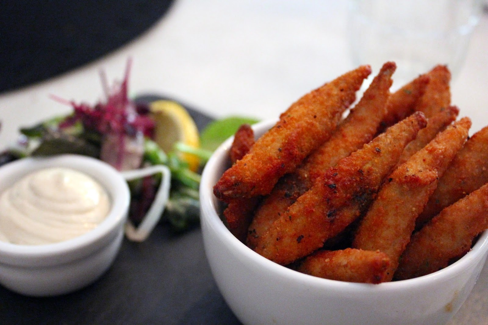Riddle and Finns Brighton whitebait