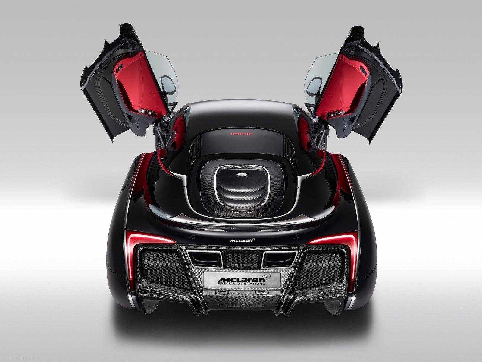 Hình ảnh siêu xe McLaren X-1 Concept 2012 & nội ngoại thất