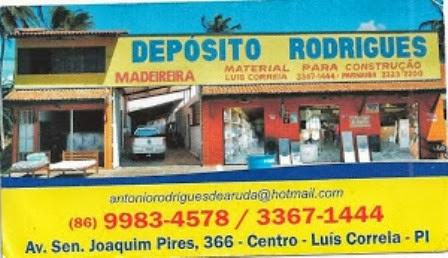 DEPÓSITO RODRIGUES, TUDO PARA SUA CONSTRUÇÃO!!. QUALIDADE PREÇOS BAIXOS DE VERDADE!!.