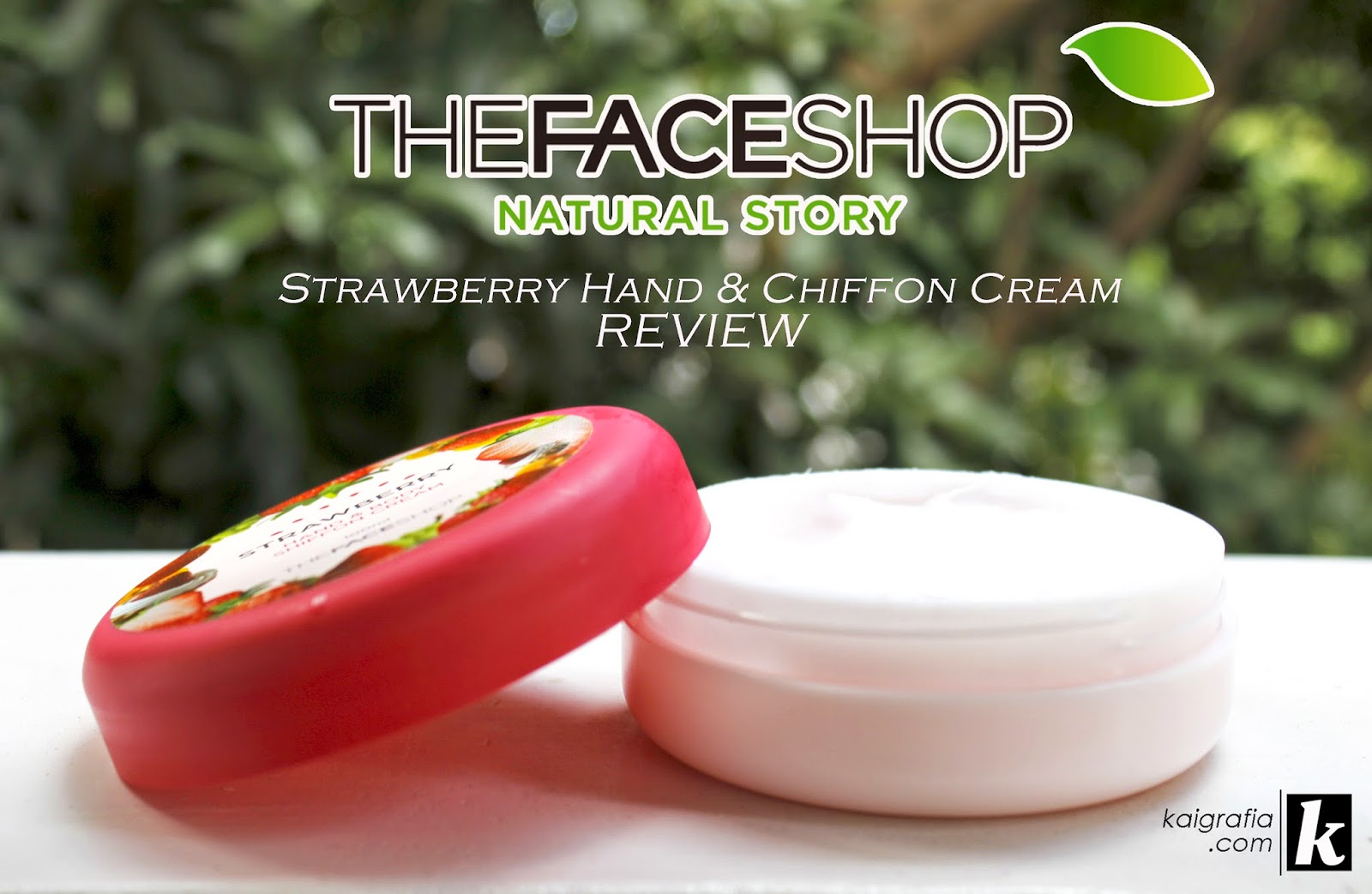 The Face Shop Hand and Body Chiffon Cream Strawberry review
