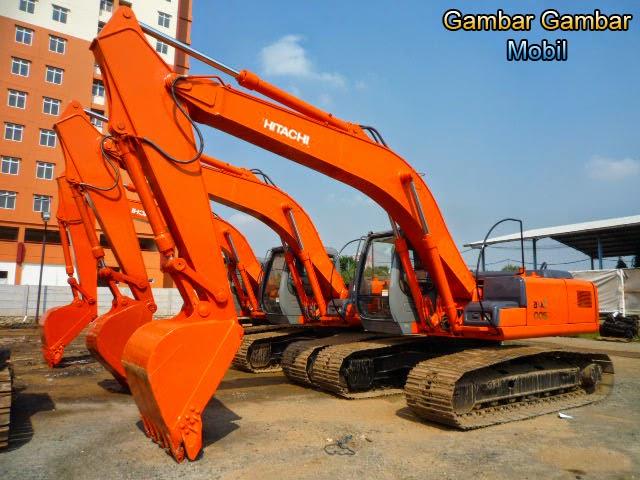 gambar excavator hitachi