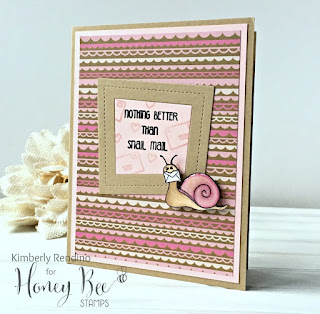 snail mail | handmade card | honey bee stamps | kimpletekreativity.blogspot.com