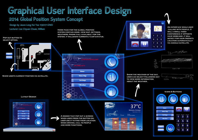 graphical user interface design william lee c c top 10 student