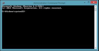 Contoh Gambar Command Prompt