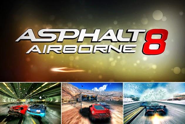 Asphalt 8 Airborne APK Mod Mega