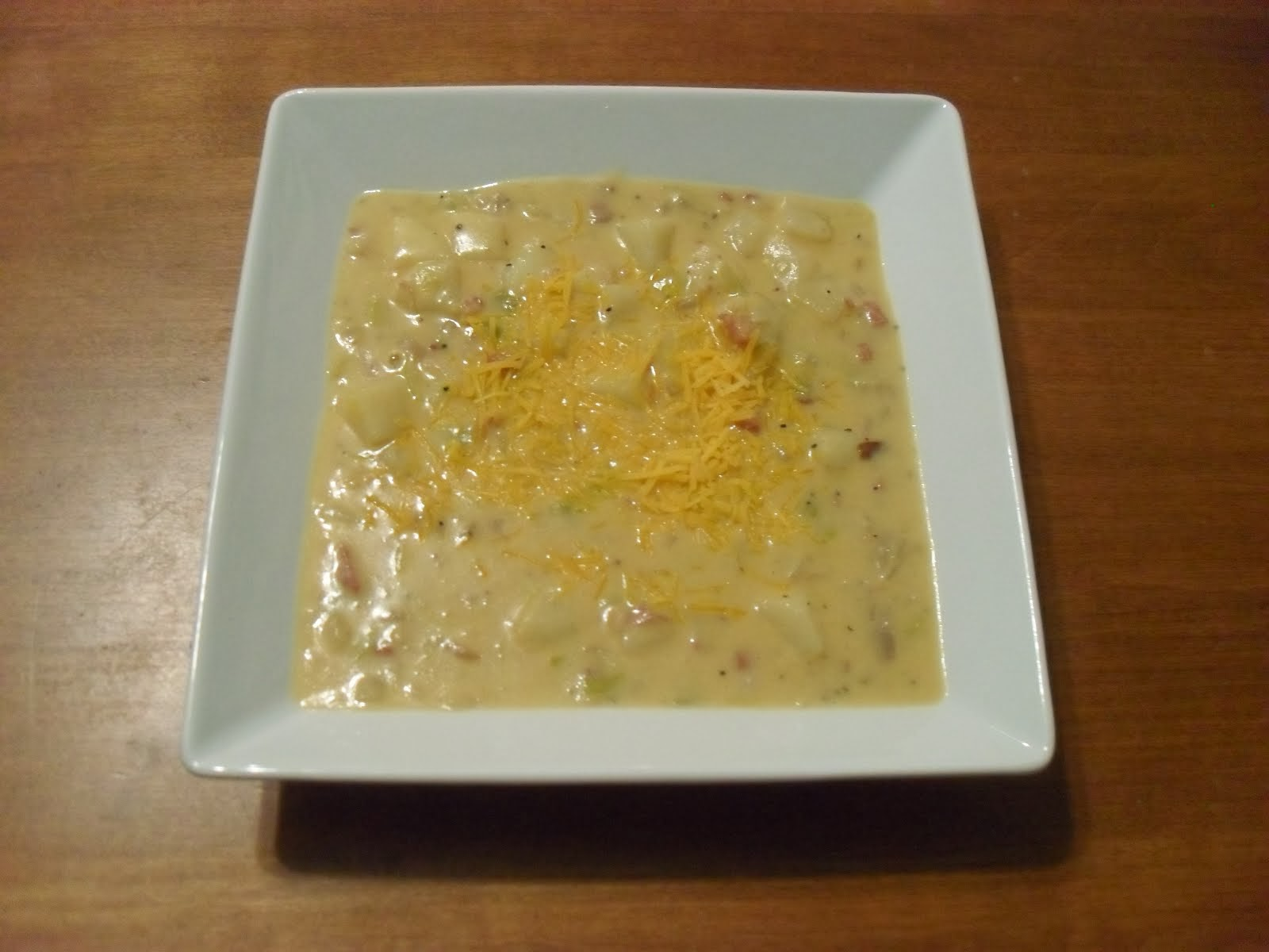 Cheese and Bacon Soup
