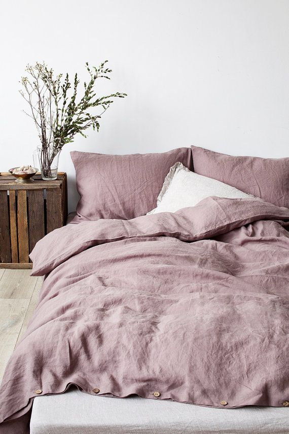 Bed linens are the different pieces of bedding one uses to