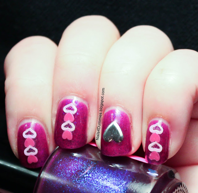 Nails4Dummies - Electric Grape Love
