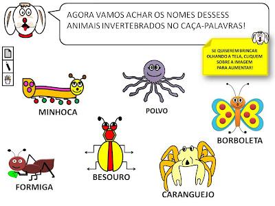 COLORIR   ANIMAIS VERTEBRADOS
