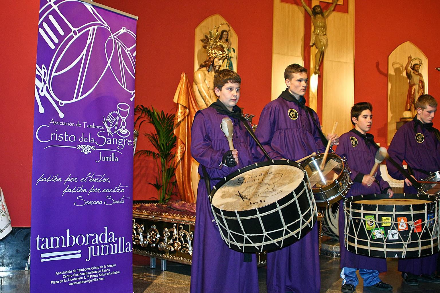Semana Santa, Tamboradas, Jumilla