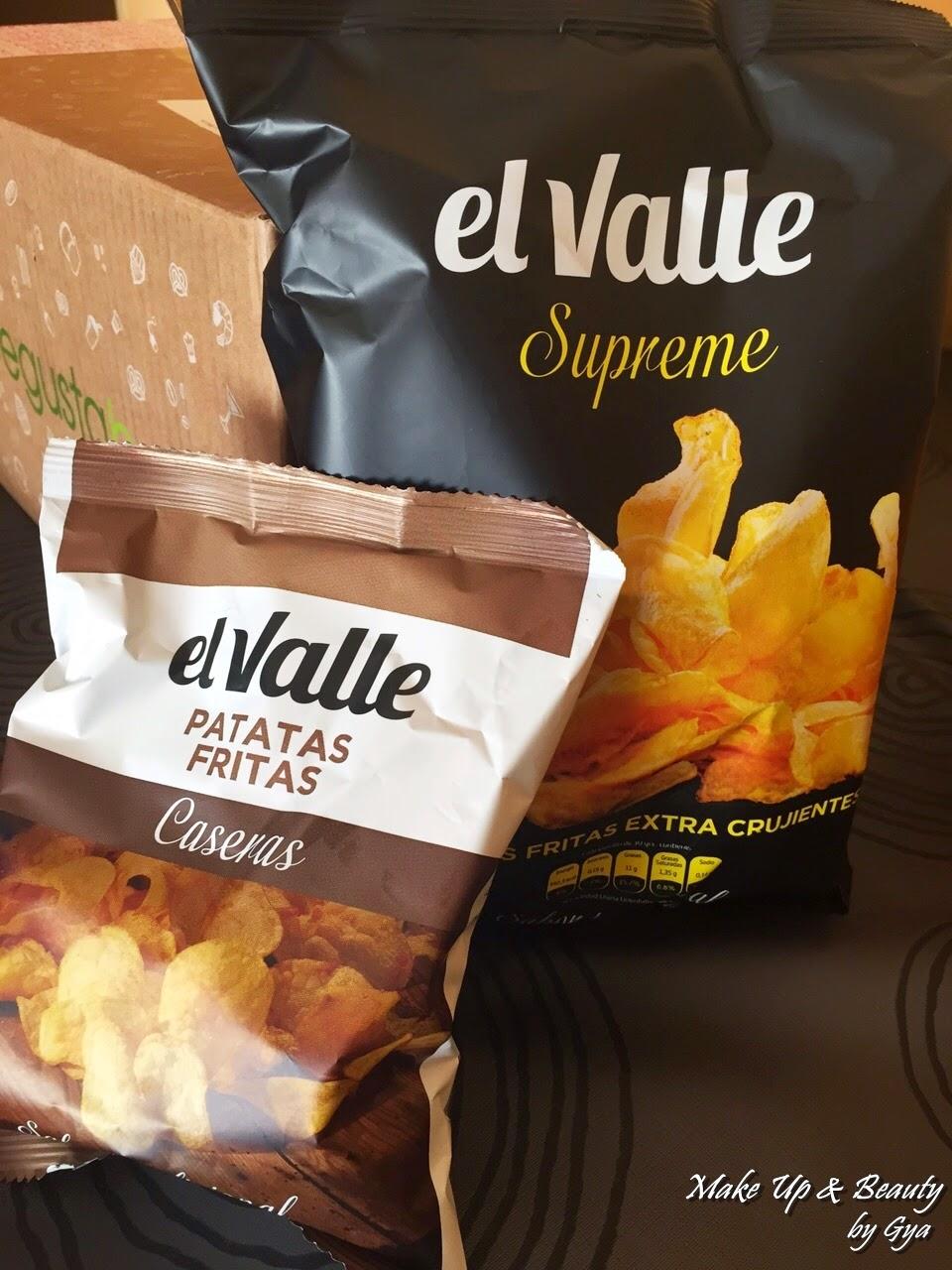 Patatas fritas el valle, degustabox