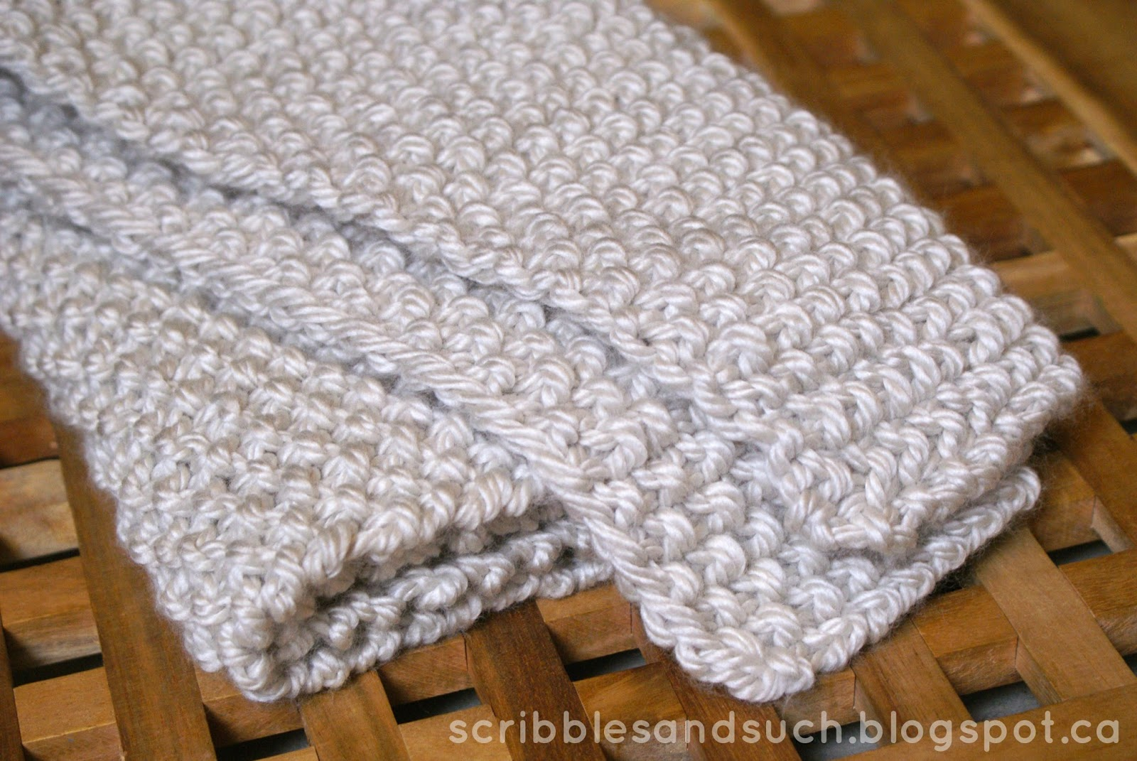 Knitting Pattern For Chunky Baby Blanket : scribbles & such: Chunky Knitted Baby Blanket