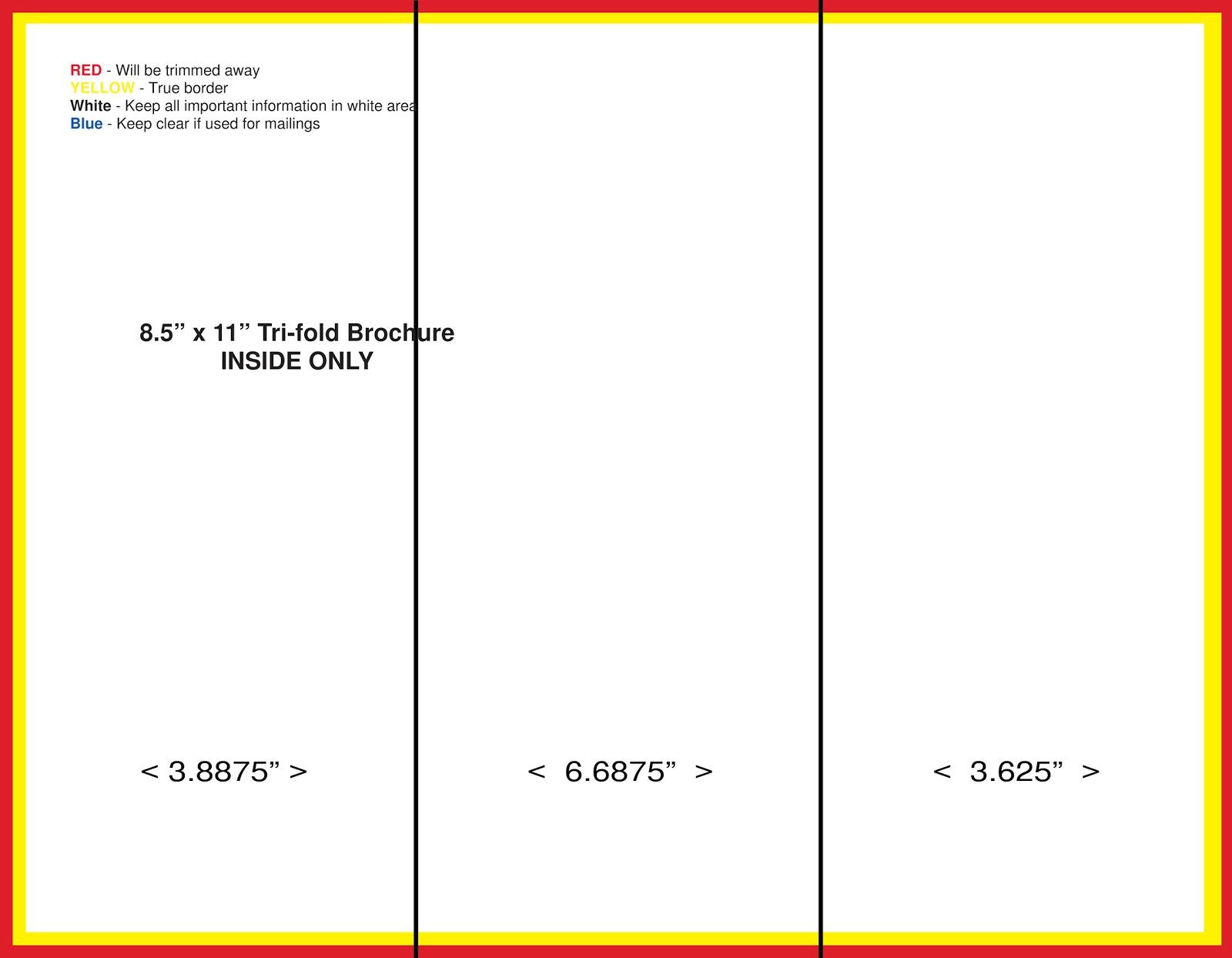 Blank Brochure Templates birth certificate template free download – Blank Brochure Template