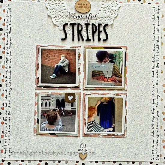 Wonderful Stripes by Sian Fair
