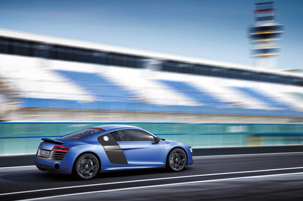 Audi R8 2013: Refresh + V10 Plus Model