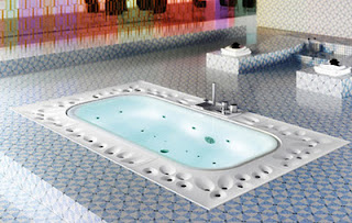 how to clean spa bath water intake