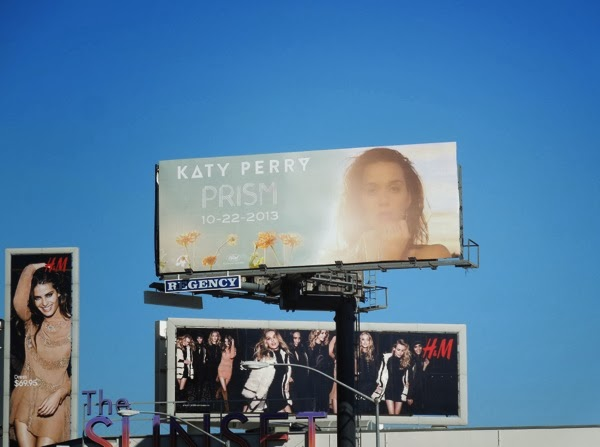 Katy Perry Prism album billboard