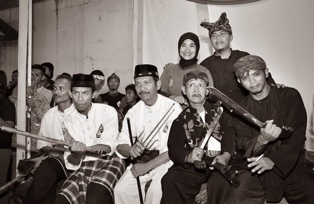 Bersama Para Pesilat Tatar Sunda