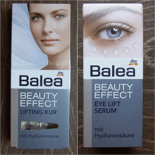 Balea Beauty Effect Lifting Kur und Eye Lift Serum