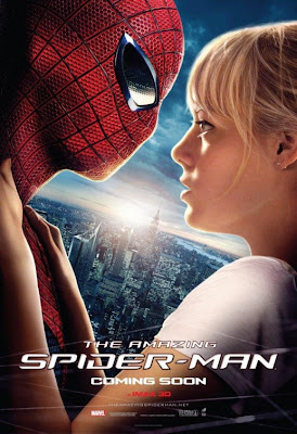 The Amazing Spider-Man Teaser One Sheet Movie Poster - Andrew Garfield as Spider-Man & Emma Stone as Gwen Stacy