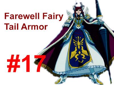 Farewell Fairy Tail Armor Erza Scarlet