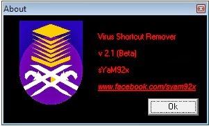 free software world shortcut virus remover v 1