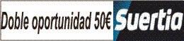 Suertia - hasta 50 euros gratis