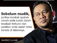 Tips Mudik Aman, Lucu dan Kocak dari Cak Lontong, Hati- Hati Jangan Sampai Tertipu !!!