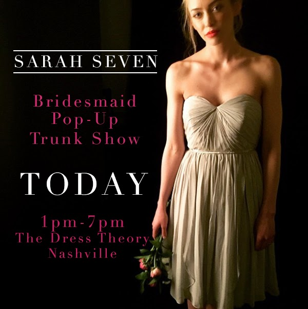 Sarah Seven Bridesmaids Pop-Up Trunk Show at The Dress Theory Nashville // photography by Matthew Moore Photography