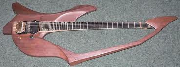 Crazy Wooden Bow Guitar