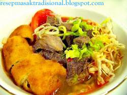 Resep Cara Membuat Soto Mie (Bogor)