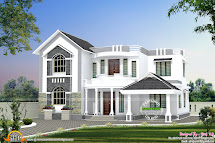 House Exterior Options - Kerala Home Design And Floor Plans