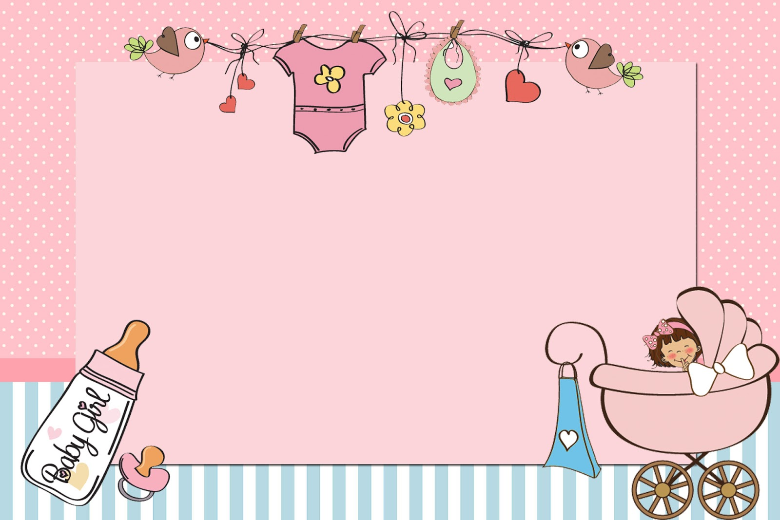 Baby girl clipart free printable