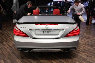 Mercedes SL AMG 63