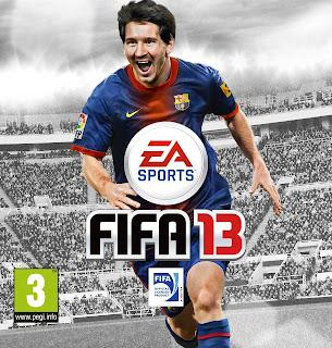 FIFA+13+Capa Universo+Kits Leo+Messi Mateus+Guedes FIFA 13: Capa Mundial Apresentada