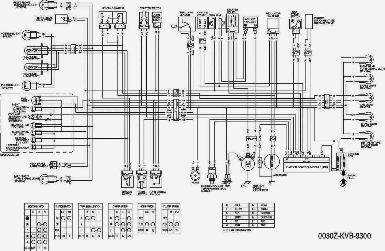 Schematic For A Suzuki Quad